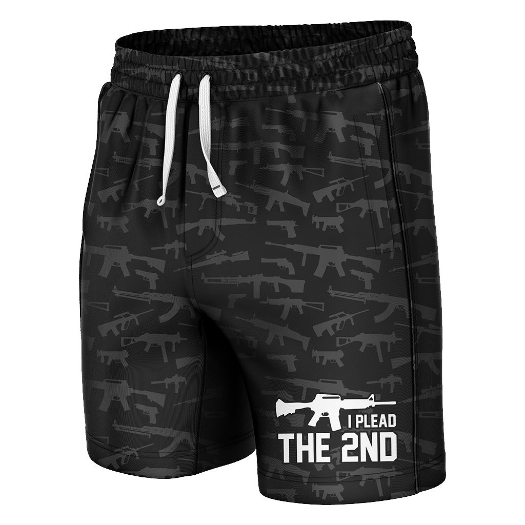 Plead The 2nd Swim Trunks - Crusader Outlet