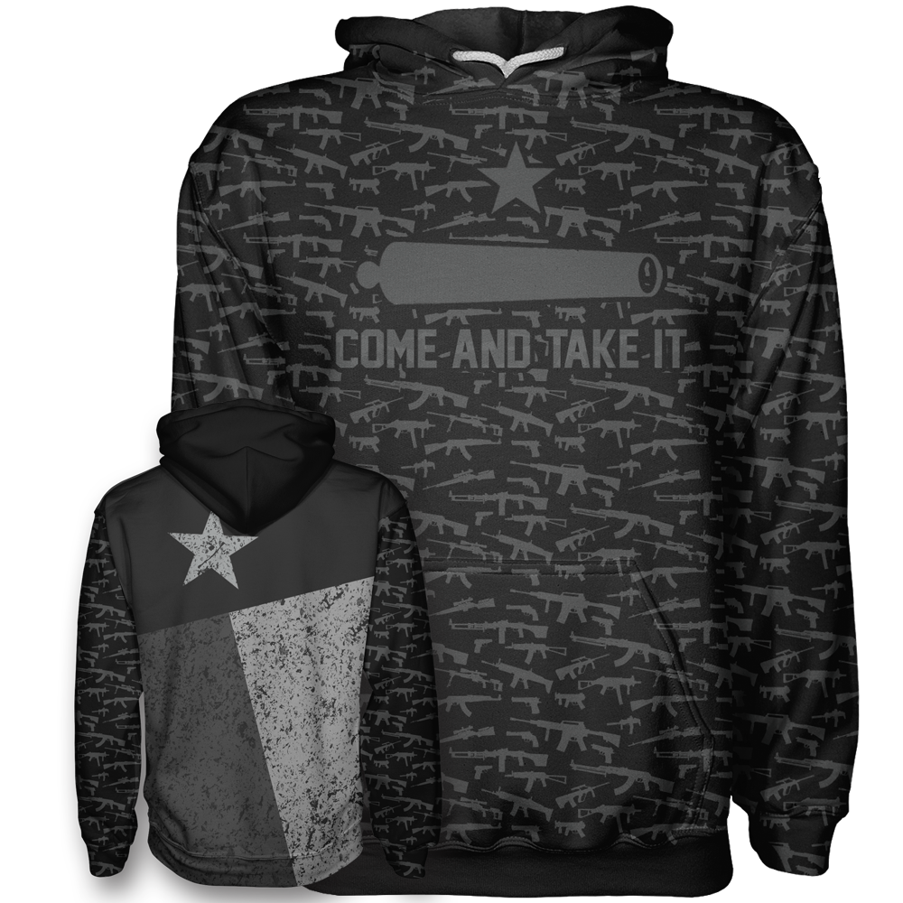 Come and Take It - Texas Flag Hoodie - Crusader Outlet