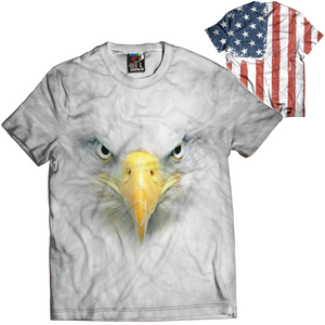 Eagle Face Tee - Crusader Outlet