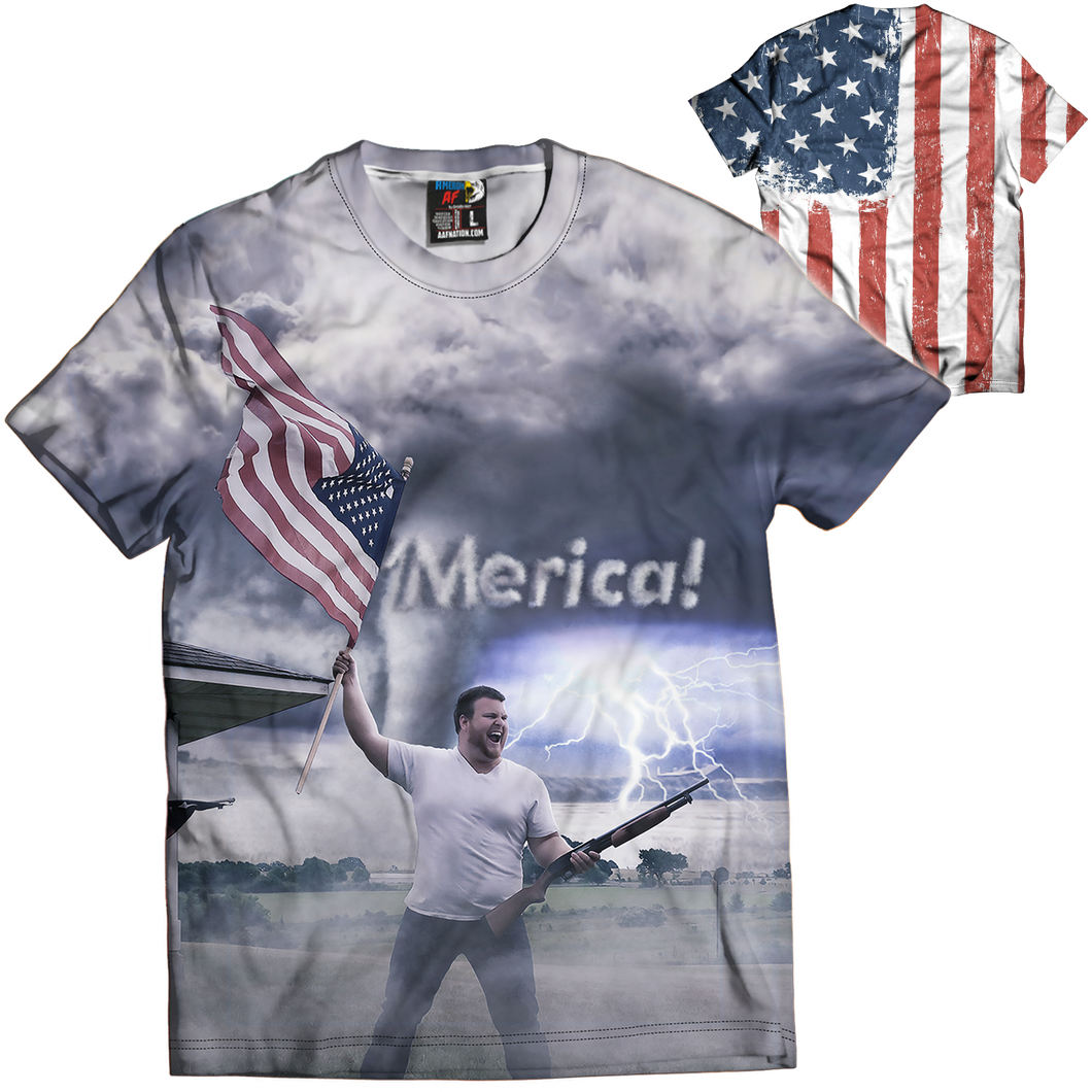 This Is Merica Tee - Crusader Outlet
