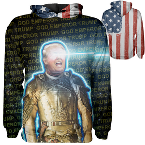 God Emperor Trump Hoodie - Crusader Outlet