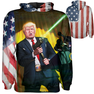 Trump vs Fake News Hoodie - Crusader Outlet