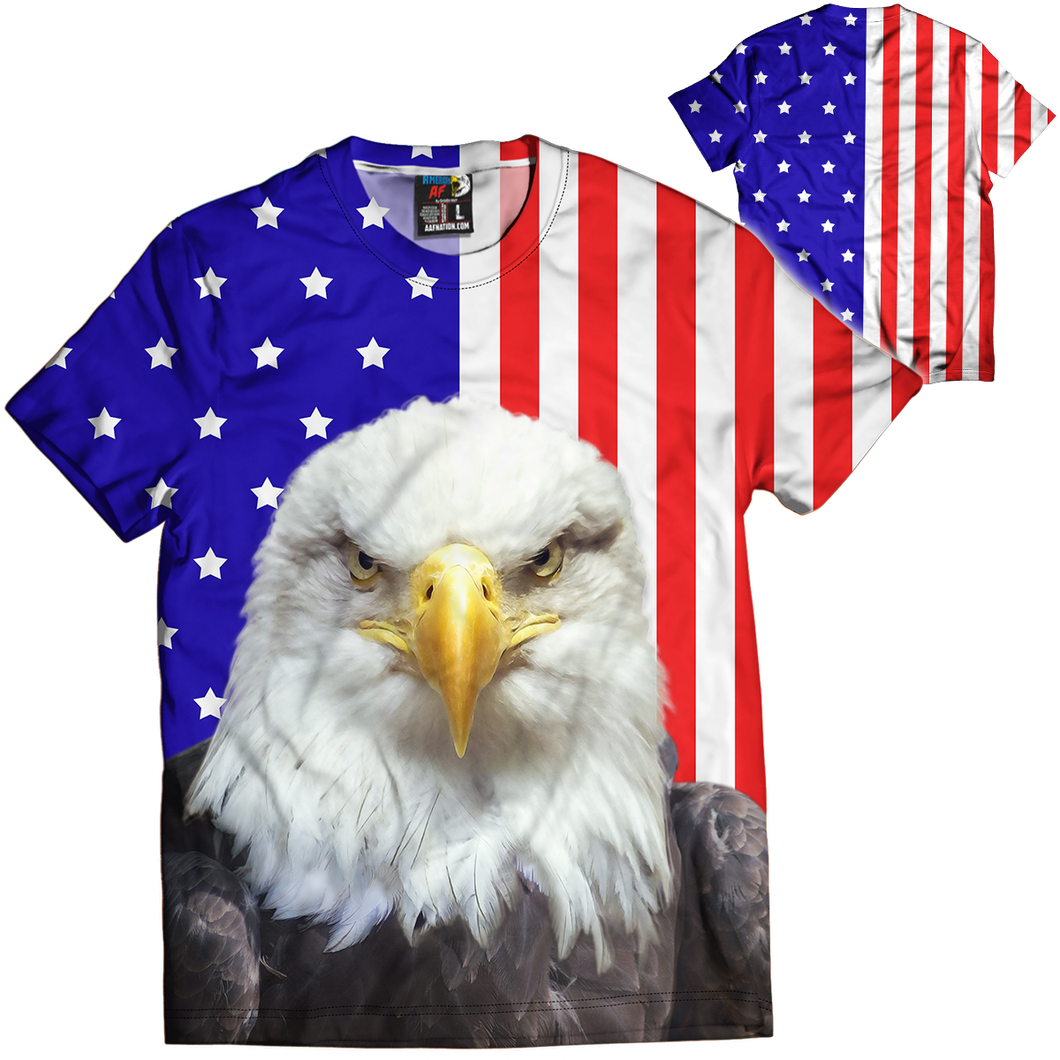 Eagle Flag Tee - Crusader Outlet