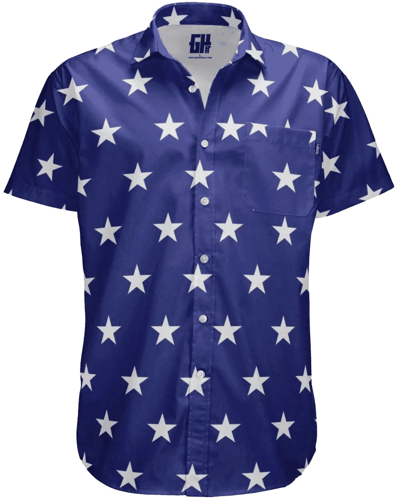 Stars Button Down - Crusader Outlet