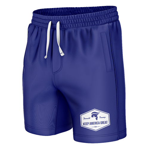 Keep America Great Blue Swim Trunks - Crusader Outlet