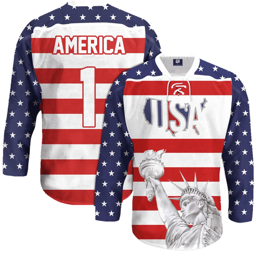 USA Liberty Hockey Jersey - Crusader Outlet