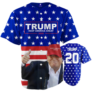 Keep America Great Baseball Jersey - Crusader Outlet