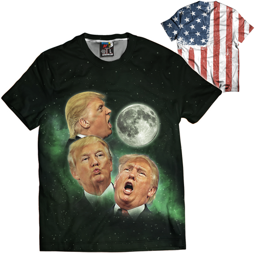 3 Trump Moons Tee - Crusader Outlet