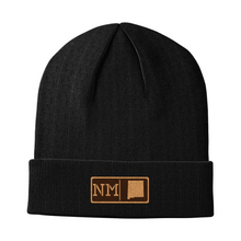 Load image into Gallery viewer, New Mexico Leather Patch Homegrown Beanie