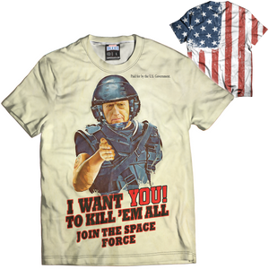 I Want You Mattis Tee - Crusader Outlet
