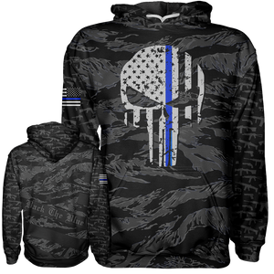Thin Blue Line Hoodie - Crusader Outlet
