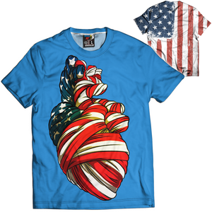 American Heart Tee - Crusader Outlet