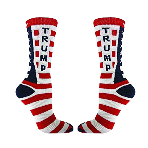 Trump Flag Socks - Crusader Outlet