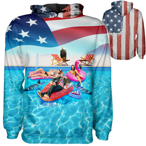 Trump Pool Hoodie - Crusader Outlet