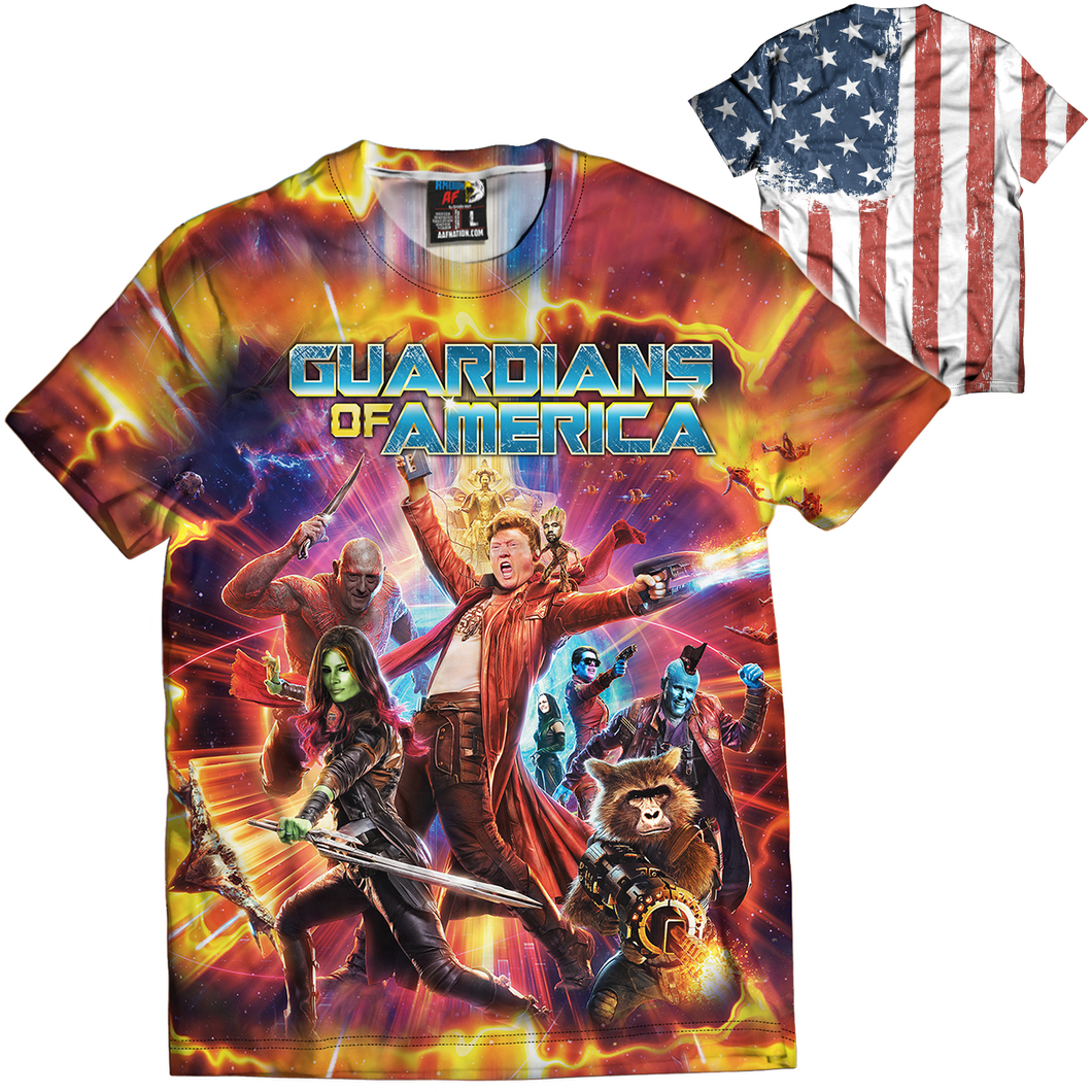 Guardians of America Tee - Crusader Outlet