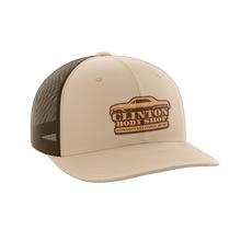 Load image into Gallery viewer, Clinton Body Shop Leather Patch Hat - Crusader Outlet
