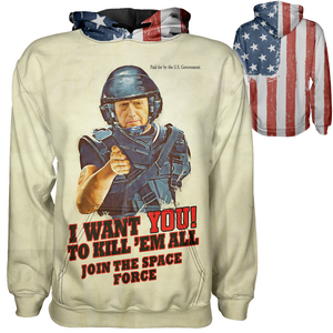 I Want You Mattis Hoodie - Crusader Outlet