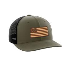 Load image into Gallery viewer, 13 Colonies Leather Patch Hat - Crusader Outlet