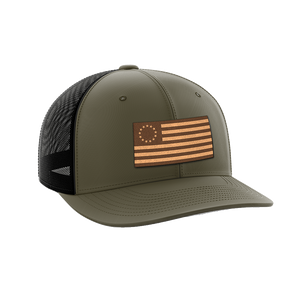 13 Colonies Leather Patch Hat - Crusader Outlet