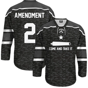 Come and Take It Hockey Jersey - Crusader Outlet