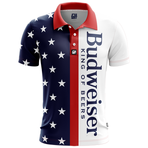 Retro Bud Golf Polo - Crusader Outlet