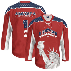 Liberty America #1 Hockey Jersey - Crusader Outlet