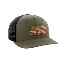 Load image into Gallery viewer, Don't Tread On Me Leather Patch Hat - Crusader Outlet