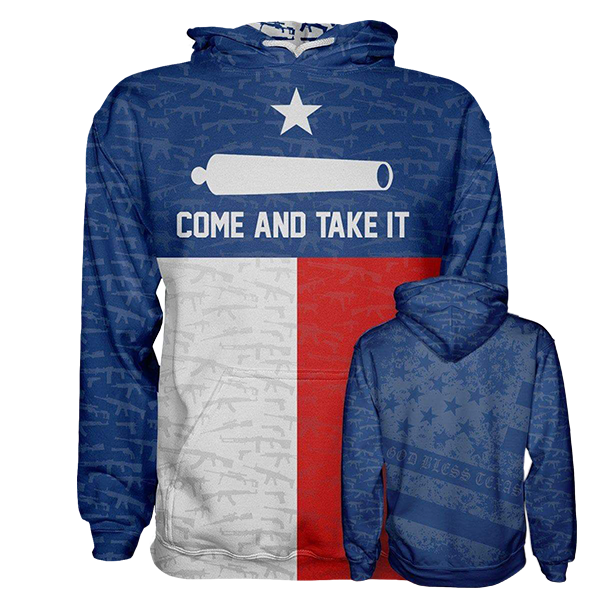 Come and Take It Hoodie - Crusader Outlet
