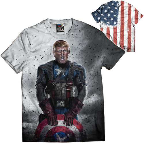 Captain Trump Tee - Crusader Outlet