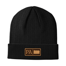 Load image into Gallery viewer, Pennsylvania Leather Patch Homegrown Beanie