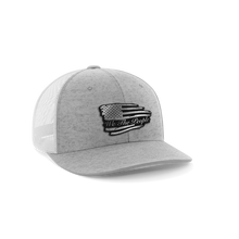 Load image into Gallery viewer, Torn Flag We The People Leather Patch Hat - Crusader Outlet