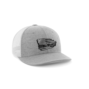 Torn Flag We The People Leather Patch Hat - Crusader Outlet