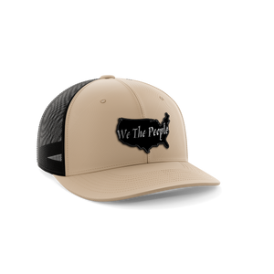 We The People USA Leather Patch Hat - Crusader Outlet