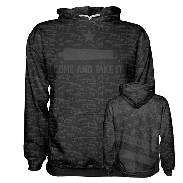 Come and Take It Hoodie v2 - Crusader Outlet