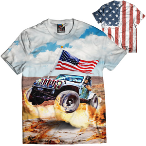 Abe Jeep Tee - Crusader Outlet