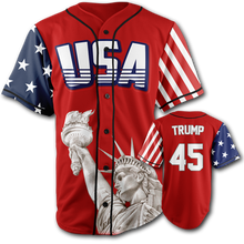 Load image into Gallery viewer, Trump #45 Baseball Jersey - Crusader Outlet