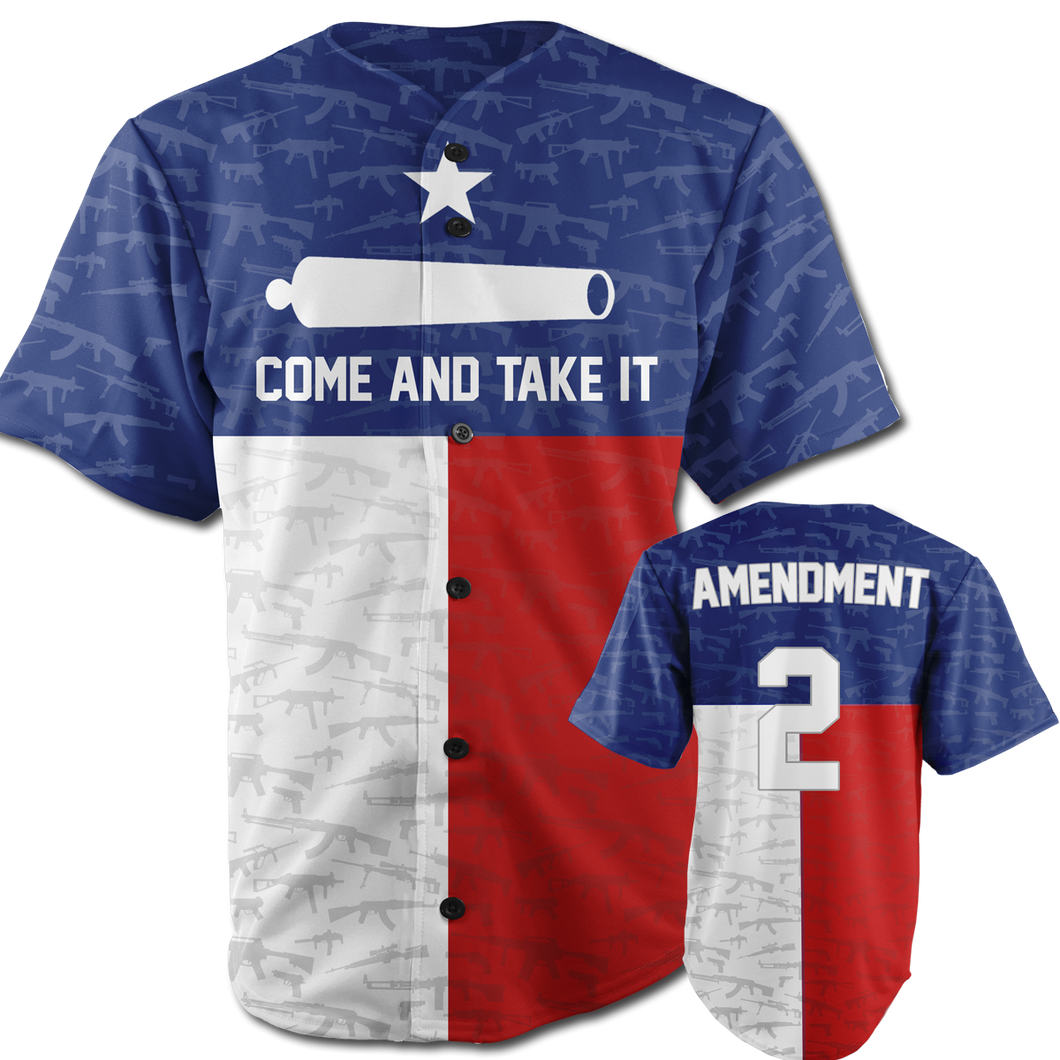 Come And Take It Jersey Texas Edition - Crusader Outlet