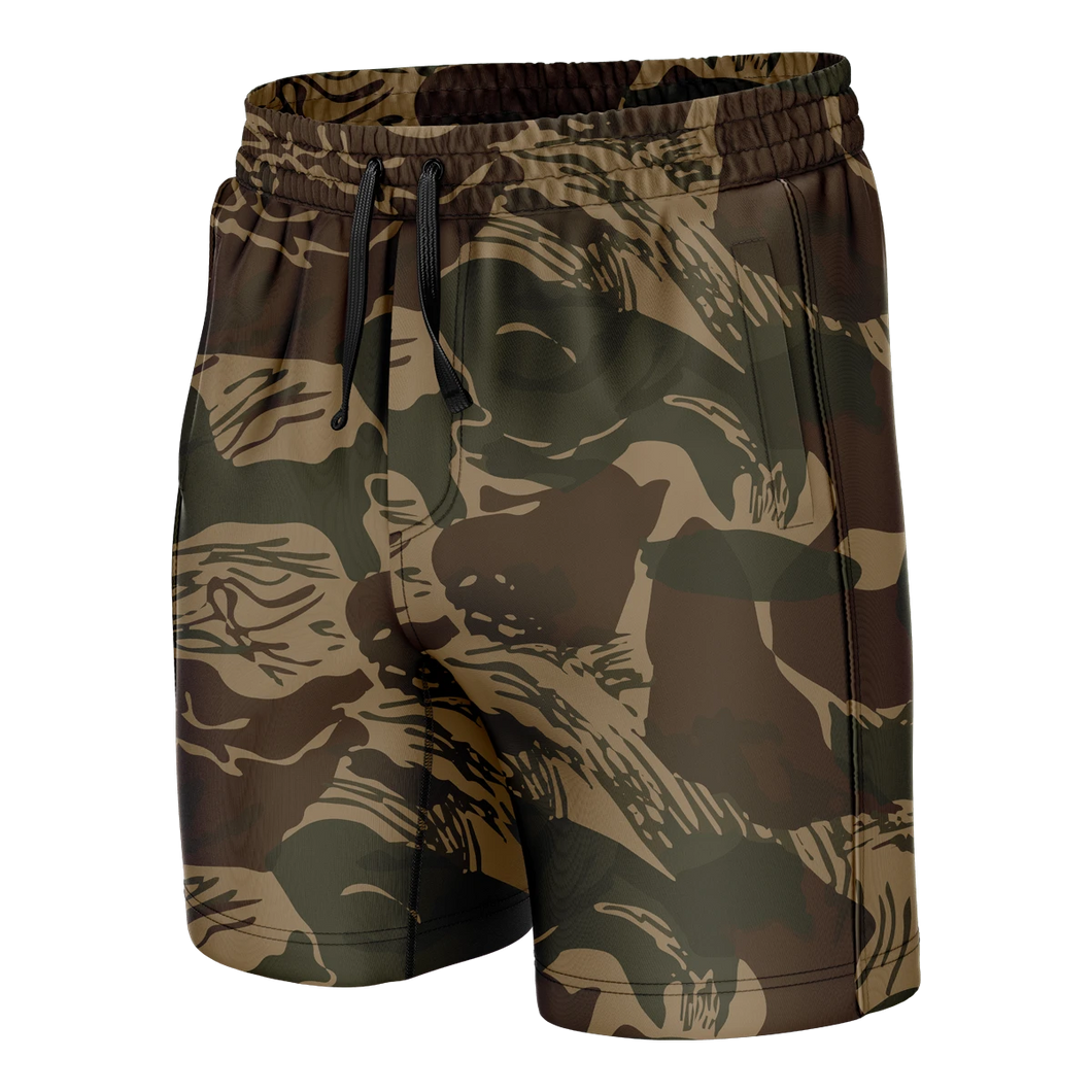 Brushstroke Camo Swim Trunks - Crusader Outlet