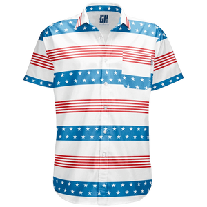 Stripes of Glory Button Down - Crusader Outlet