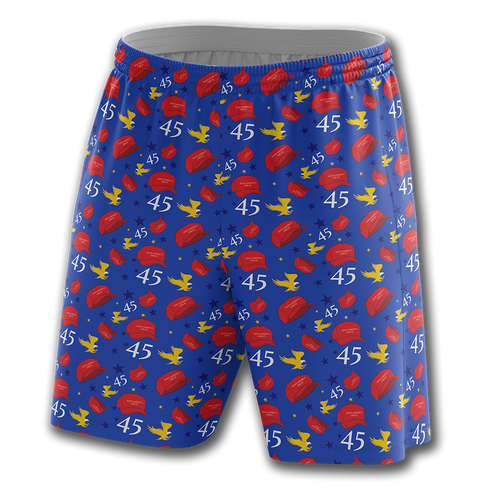 Trump Hats Shorts - Crusader Outlet