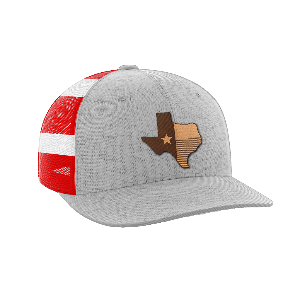 Texas Leather Patch Hat - Crusader Outlet