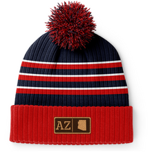 Load image into Gallery viewer, Arizona Leather Patch Homegrown Beanie