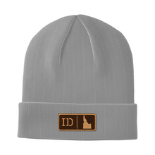 Load image into Gallery viewer, Idaho Leather Patch Homegrown Beanie