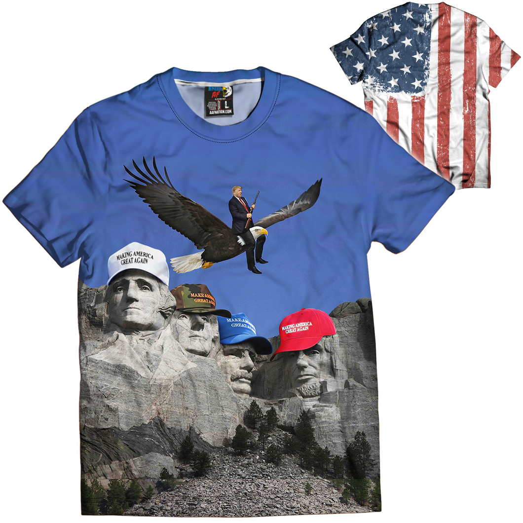 Mount Trumpmore Tee - Crusader Outlet