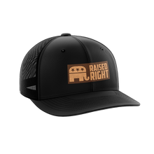 Load image into Gallery viewer, Raised Right Leather Patch Hat - Crusader Outlet