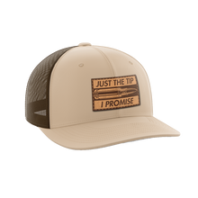 Load image into Gallery viewer, Just The Tip, I Promise Leather Patch Hat - Crusader Outlet