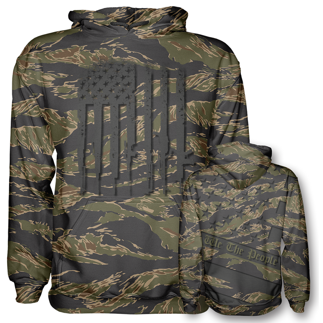 Jungle Tiger Digi WTP Hoodie - Crusader Outlet