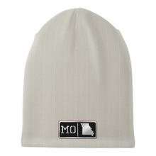 Load image into Gallery viewer, Missouri Black Leather Patch Homegrown Beanie