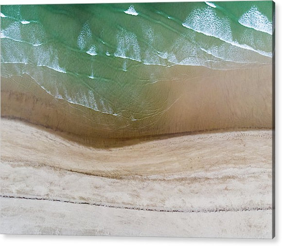 Cape Cod Beach Abstract - Acrylic Print