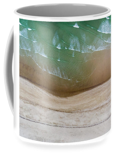 Cape Cod Beach Abstract - Mug